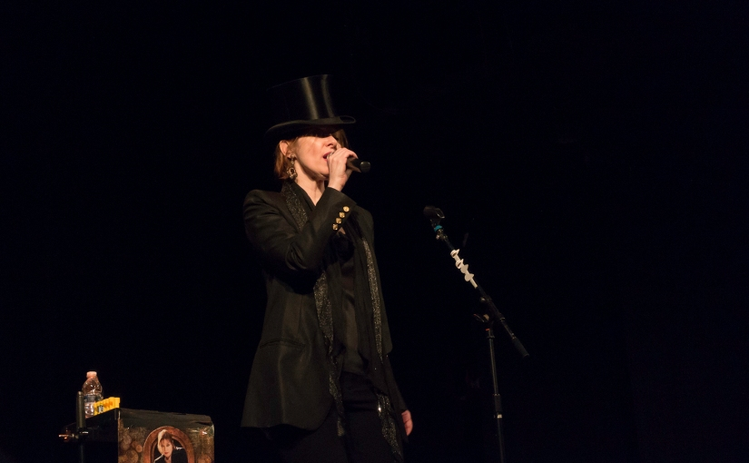 Suzanne Vega at the Bearsville Theater