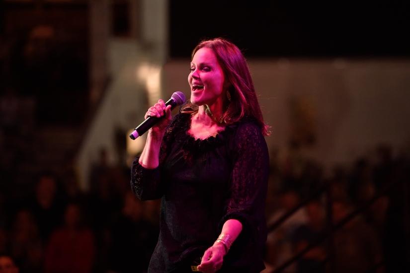 Belinda Carlisle at The Woodstock Fair, Woodstock,CT.