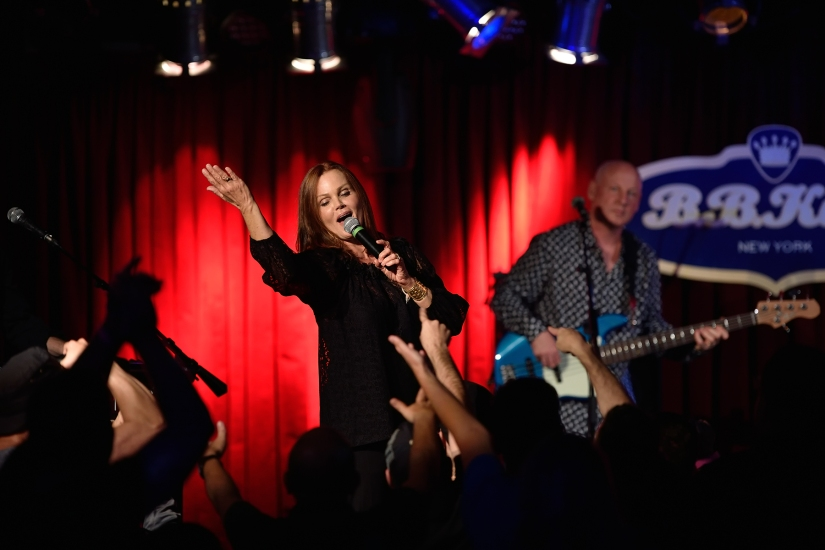 Belinda Carlisle at B.B. King's, NYC