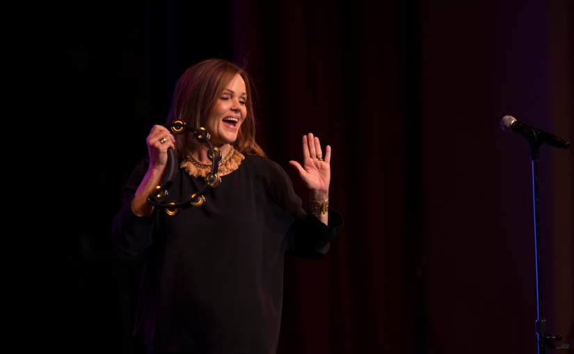 Belinda Carlisle at The Paramount, Peekskill, N.Y.