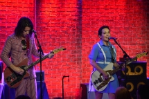 Pietro Straccia and Jane Wiedlin