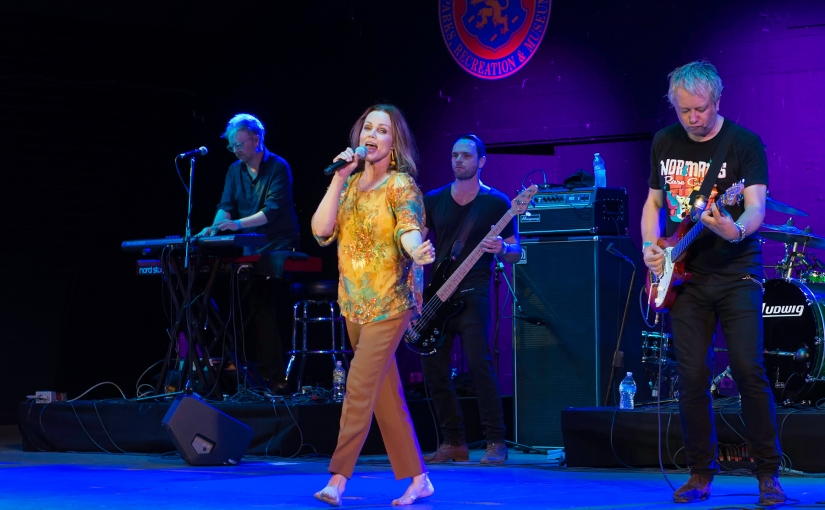 Belinda Carlisle at the Harry Chapin Lakeside Theater at Eisenhower Park